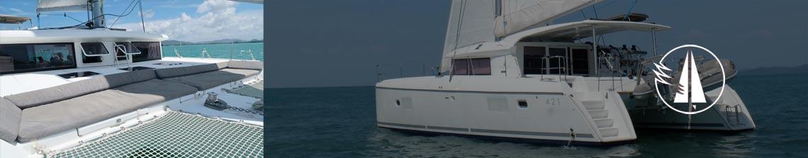 Sailescapes Aqua Catamaran 12.8m