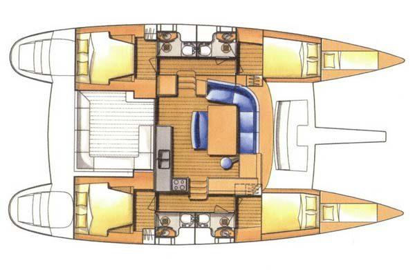 Lagoon 440 - 13 6m Catamaran | Sailescapes